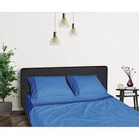 Функциональное постельное белье Aero Blue Sapphire (простынь, пододеяльник, 2 наволочки) синий ТМ Sonex