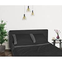 Функциональное постельное белье Aero Black Diamond (простынь, пододеяльник, 2 наволочки) черный ТМ Sonex