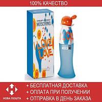 Moschino Cheap and Chic I Love Love EDT 100ml (туалетная вода Москино Чип Энд Чик Ай Лав Лав)