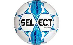 Мяч футбольный №5 SELECT  (белый-голубой)