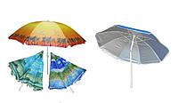 Пляжный зонтик С наклоном и напылением 220 см