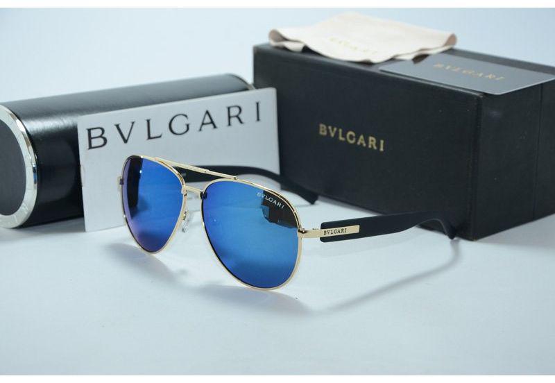 Сонцезахисні окуляри Bvlgari Булгарі з синім відливом (репліка)