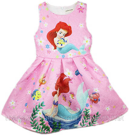 4483997e Детское платье с русалочкой Ариэль - Интернет-магазин детской одежды