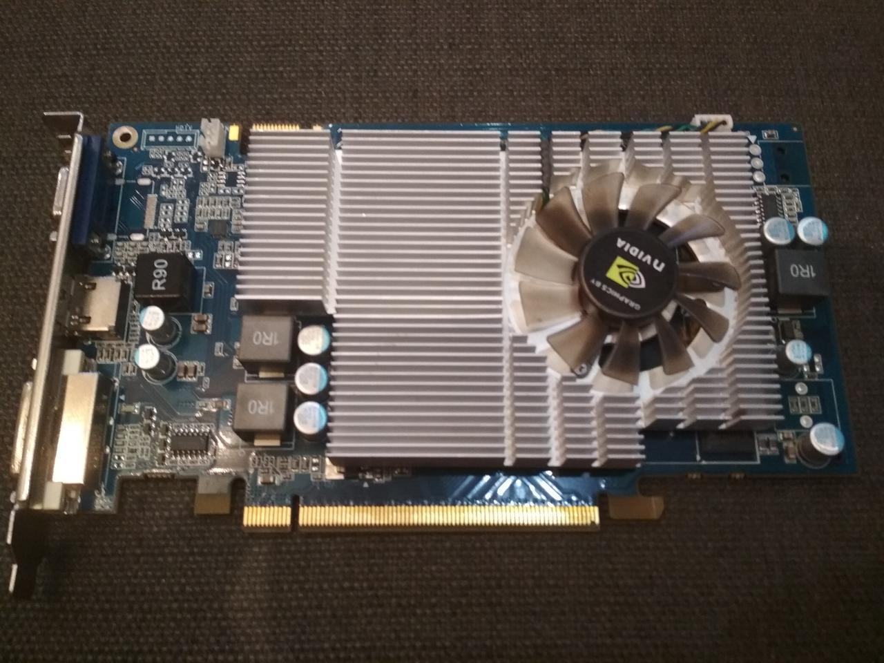 ВИДЕОКАРТА Pci-E GEFORCE GT130 на 2GB ( а точнее 1,5 GB ! ) c HDMI и ГАРАНТИЕЙ ( видеоадаптер GT 130 1,5GB )