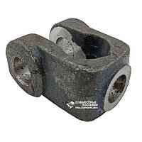Проушина (вилка) штока гидроцилиндров ЦС-75, ЦС-100 под палец 25 мм, фото 1