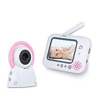 """Видеоняня SBJ BM-254 Baby Monitor с дистанционным монитором LCD 3,5"""""""" Белый (SUN0519)"""