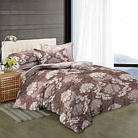 Двуспальный комплект постельного белья 180*220 сатин (8145) TM KRISPOL Украина