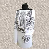 Женская сорочка бисером (нитками) ВМ-СЖ-243. Заготовка под вышивку.