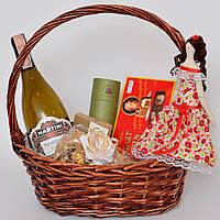 Подарочный набор винный (женщине, учителю, врачу, директору, деловому партнёру). Оригинальный подарок.
