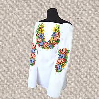 Женская сорочка бисером (нитками) ВМ-СЖ-247. Заготовка под вышивку.