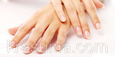 Отбеливание кончиков ногтей