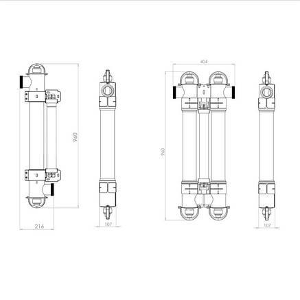 Ультрафиолетовая установка Elecro Steriliser UV-C E-PP-110. Для бассейнов с объёмом воды до 100 000 л, фото 2