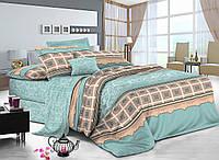 Двуспальный комплект постельного белья 180*220 сатин (8998) TM KRISPOL Украина