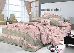 Двуспальный комплект постельного белья 180х220 сатин (9004)