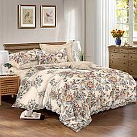 Двуспальный комплект постельного белья 180*220 сатин (9005) TM KRISPOL Украина