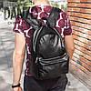 Рюкзак кожаный городской Philipp Plein Plum