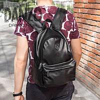 Рюкзак кожаный городской Philipp Plein Plum, фото 1