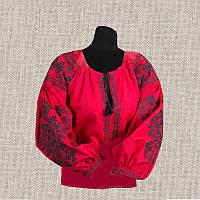 Женская сорочка бисером (нитками) ВМ-СЖ-301. Заготовка под вышивку.