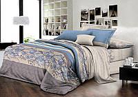 Двуспальный комплект постельного белья евро 200*220 хлопок  (8772) TM KRISPOL Украина