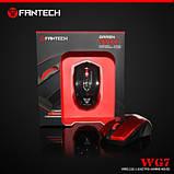 Мышь игровая беспроводная FANTECH WG7 GAREN (2000 DPI), Black, Wireless, фото 2