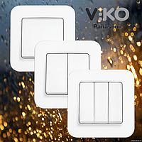 Выключатели viko rollina внутренняя серия (белый)