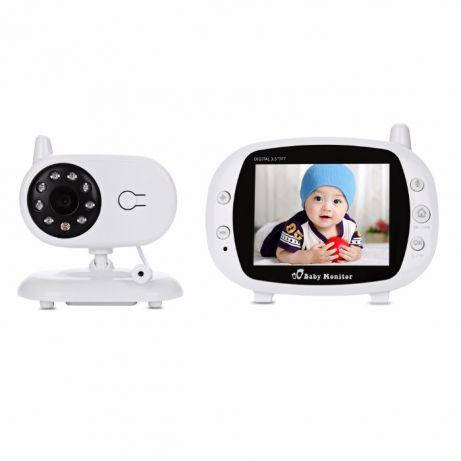 Видеоняня Baby Monitor с экраном 3.5 дюймов. Режим ночного видения, фото 2