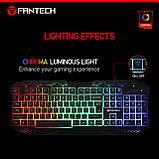 Клавиатура мультимедийная с LED подсветкой FANTECH K10 HUNTER, USB, фото 7