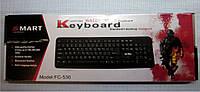 Проводная USB классическая клавиатура влагозащищенная FC-530