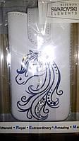 Чехол-карман с камнями Swarovski - Dreamcase НАЕS33M