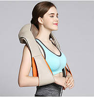 Массажер накидка для шеи, плеч и спины с подключением в авто, фото 1