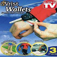 "Браслет с карманом - ""Wrist Wallets"" - 1 шт, фото 1"