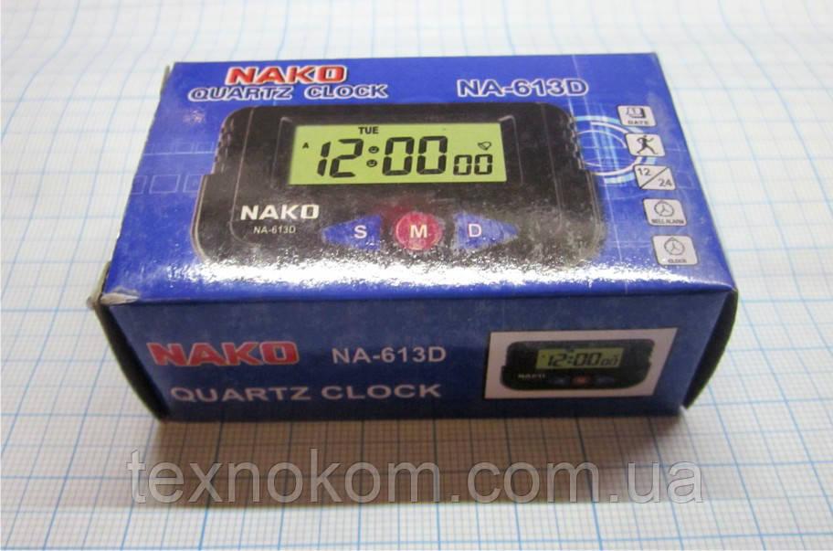 Годинник NA-613D, секундомір, календар, будильник