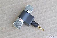 Стерео мини-микрофон, со штекером на 3 контакта