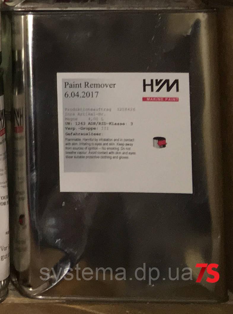 Високоефективна змивка старої фарби, шпаклівки (кислотна основа) Paint Remover
