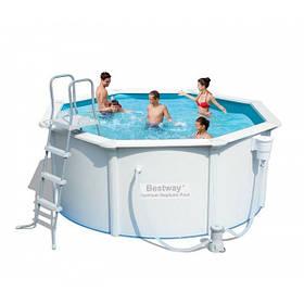 Сборной бассейн Bestway Hydrium 56563 (300x120 см) с картриджным фильтром