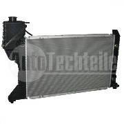 Радиатор на Mercedes Benz Sprinter  95-00  210-412 с кондиционером - Autotechteile Германия - ATT5034