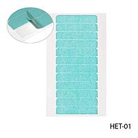 Профессиональные полимерные полоски для коррекции ленточного наращивания (HET-01)