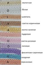 """Цветная тесьма """"шанель атласная"""",ширина 1,2см(1уп-23м)"""