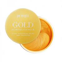 Petitfee Gold Hydrogel Eye Patch Гидрогелевые патчи с золотом