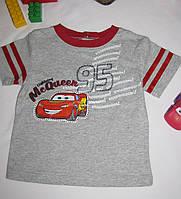 Футболка Disney Cars рост 88 см красная 07107, фото 1