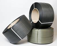 Лента упаковочная полипропиленовая черная усиленная 12 мм х 0.8 мм