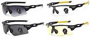 Защитные очки, очки для стрельбы, солнцезащитные, вело, тактические Shooter combo