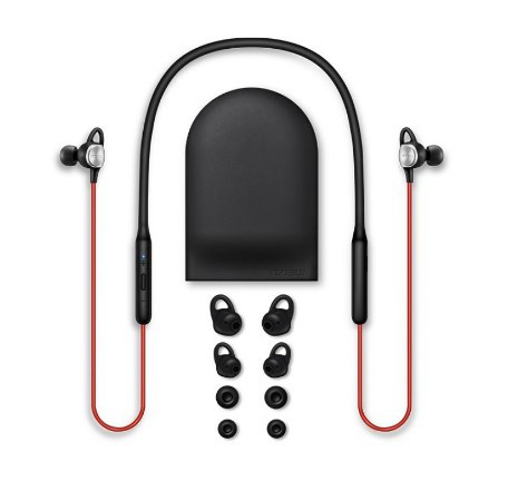 Оригинальные наушники Meizu EP52 RED Bluetooth 32Ом (Ω) / 20-20000Гц / 93Дб / Беспроводные водонепроницаемые!