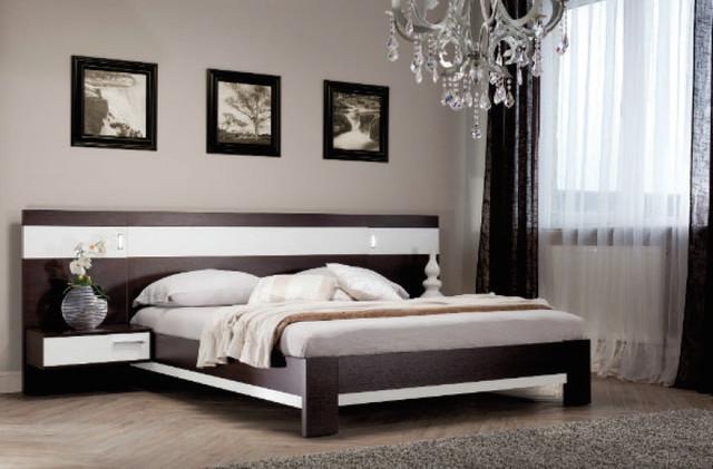 кровать спальни модерн 18 Sm 01 в цена купить в киеве Prom