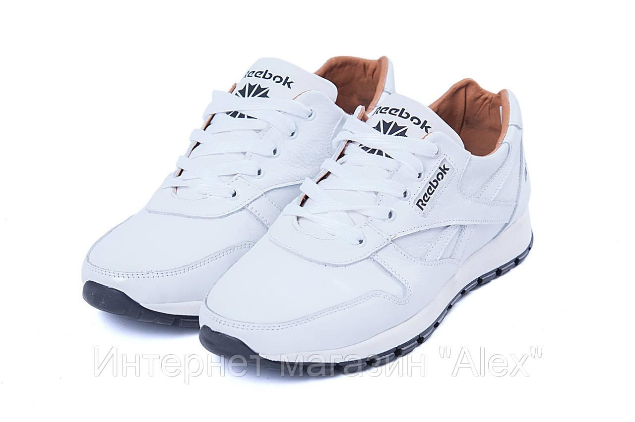 9a76bff14355 Мужские кожаные кроссовки Reebok Classic White Pearl  продажа, цена ...
