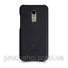 Кожаная накладка Stenk Cover для Xiaomi Redmi Note 4 Черный