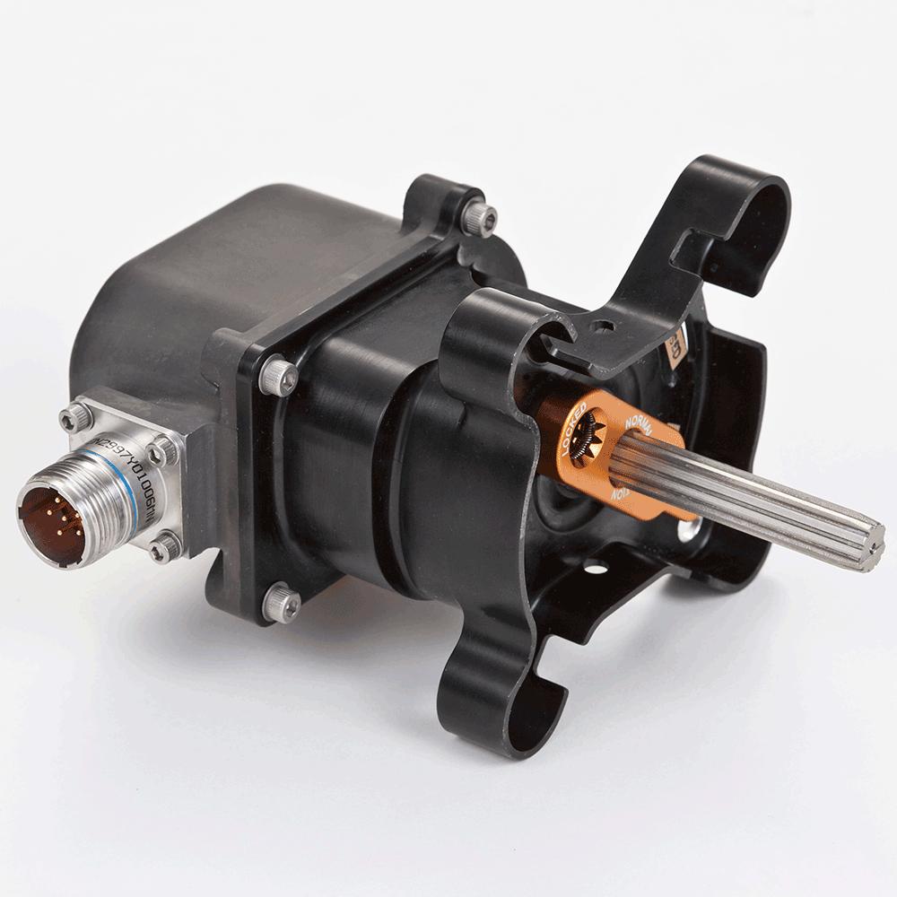 Запорный клапан с двигателем Parker для авиатехники