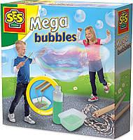 Набор для создания гигантских мыльных пузырей - МЕГА (мыльный раствор, инструменты) (02251S)