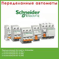 Автоматы Schneider 2 полюсный (25/63 16/50)