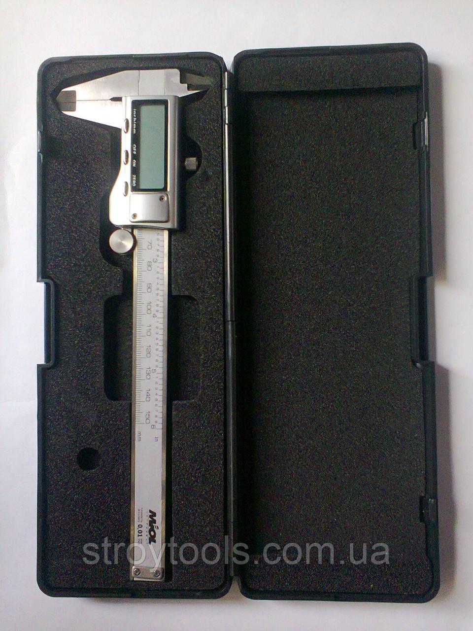 Штангенцыркуль с электронным отщетом  150mm. MIOL 15-241